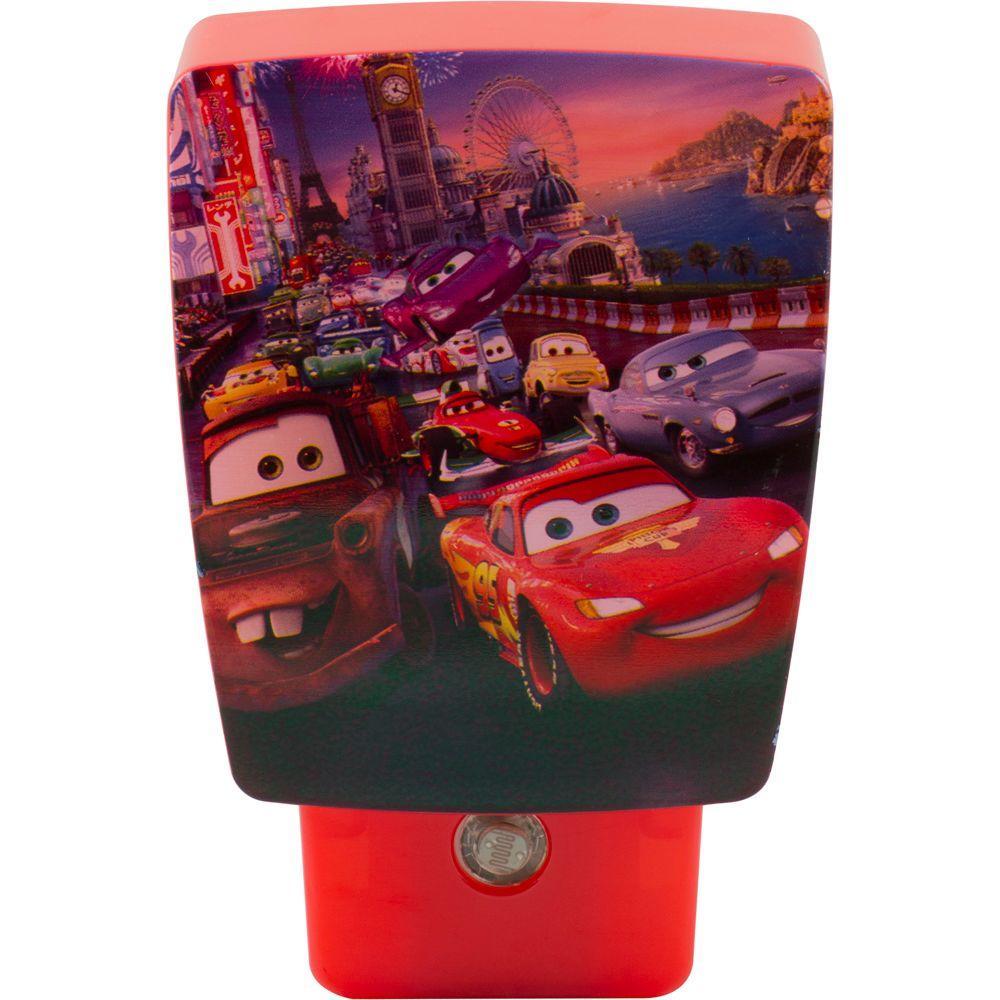 Jasco Disney Pixar Cars Wrap Around Shade LED Night Light