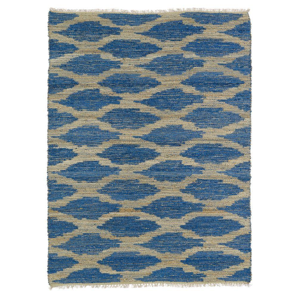 Kenwood Navy 2 ft. x 3 ft. Double Sided Area Rug