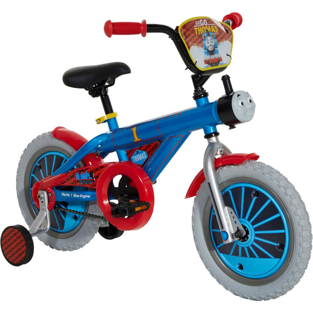 Dynacraft 14 in  Kids Bike Thomas the Train with Realistic Sounds