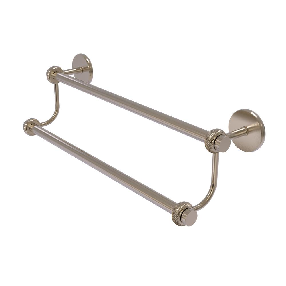 Allied Brass Satellite Orbit Two 30 in. Double Towel Bar with ...