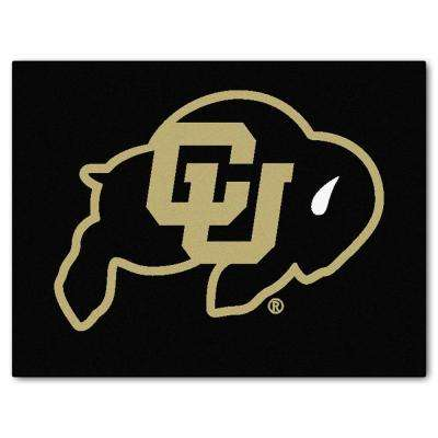 University of Colorado 3 ft. x 4 ft. All-Star Rug