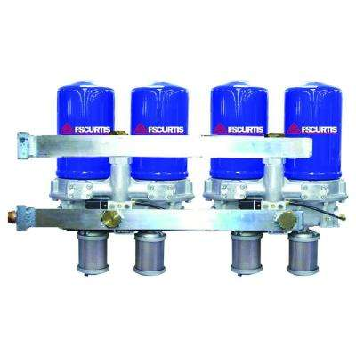 SCFM Modular Desiccant Air Dryer with Pre-Filter