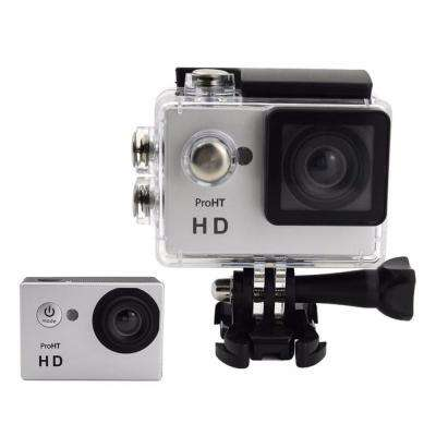 720p 2 in. Action Camera with Wi-Fi in Silver