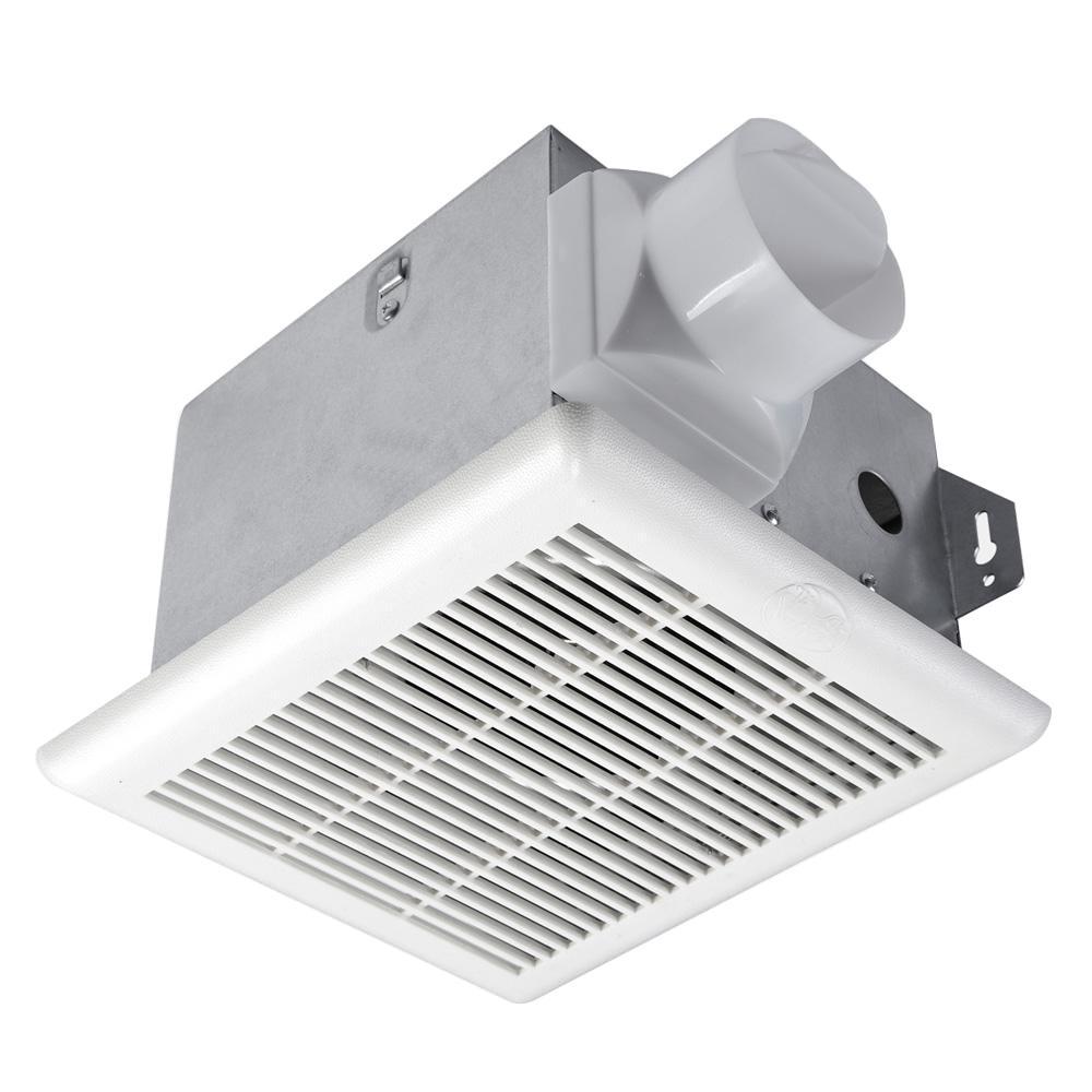 Hampton Bay 70 CFM No Cut Ceiling Mount Exhaust Bath Fan-BPT13-13D-1 on