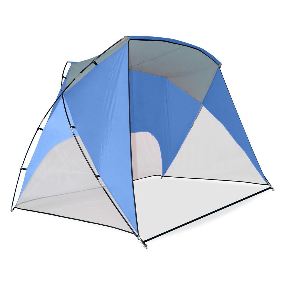 Caravan Sports 9 ft. x 6 ft. Blue Sport Shelter  sc 1 st  The Home Depot & Caravan Sports 9 ft. x 6 ft. Blue Sport Shelter-80010100990 - The ...