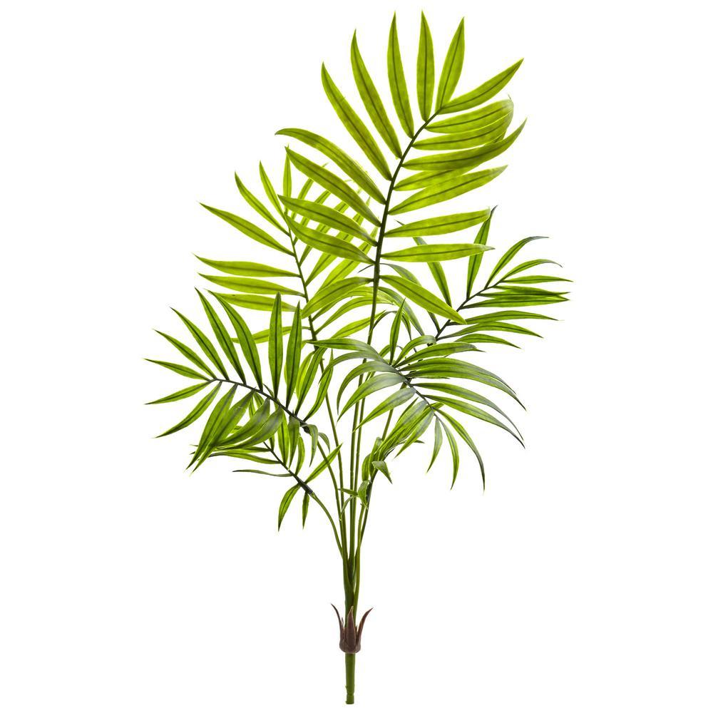 Mini Areca Palm Artificial Bush (Set of 6)