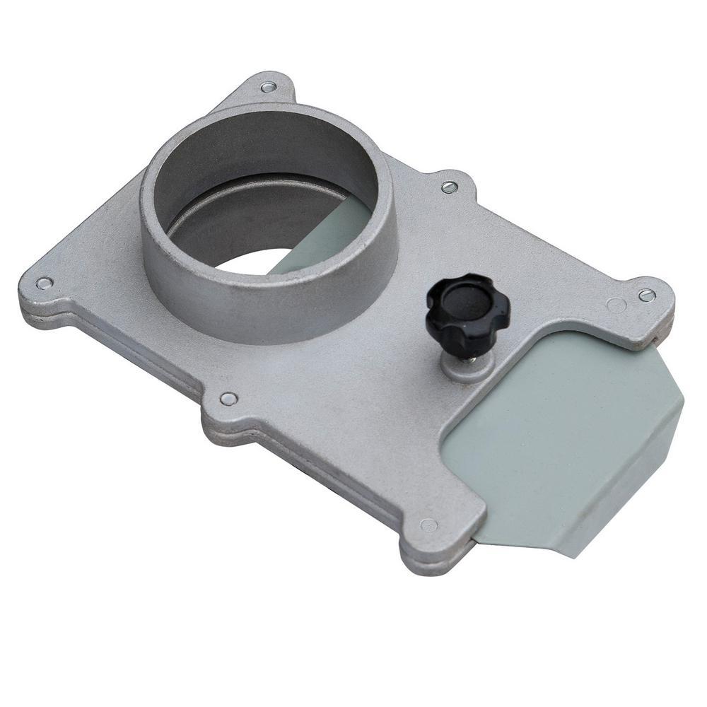 2-1/2 in. Aluminum Blast Gate for Vacuum / Dust Collector