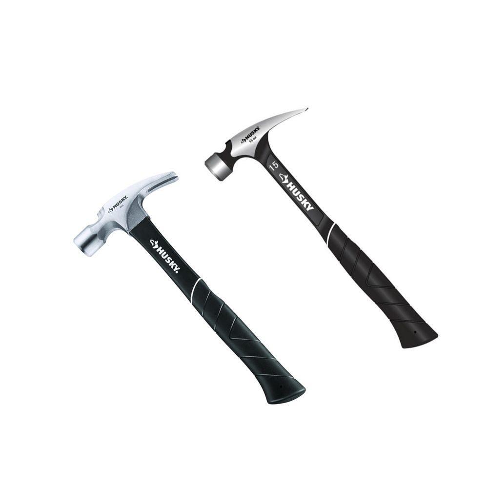 15 oz. Lite Steel Rip Hammer and 20 oz. Fiberglass Rip