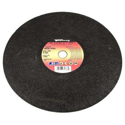 14 in. x 3/32 in. x 1 in. Metal Type 1 A36R-BF Chop Saw Blade