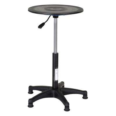 300 lb. 18 in. H Adjusts 20 in. to 30 in. Heavy-Duty Manual Turntable