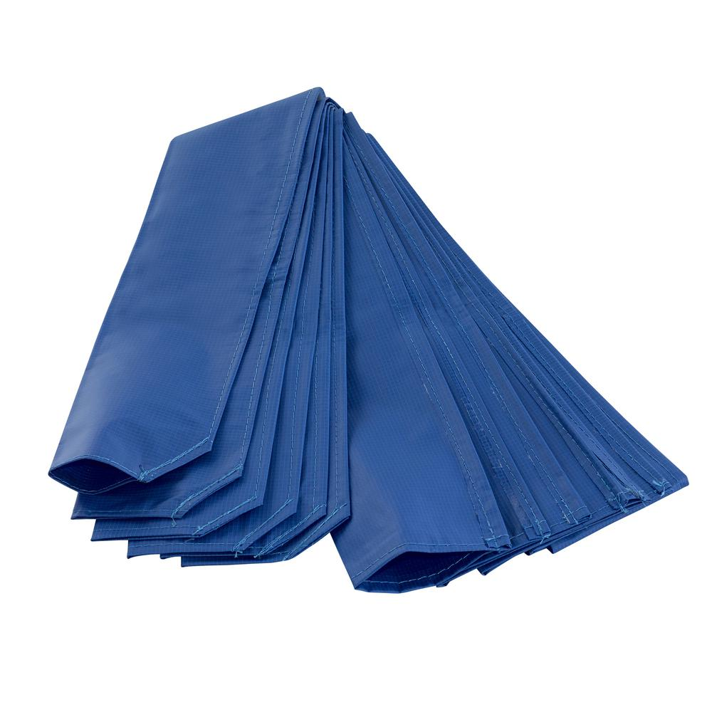 Upper Bounce Trampoline pole sleeve protector in Blue (Set of 6)