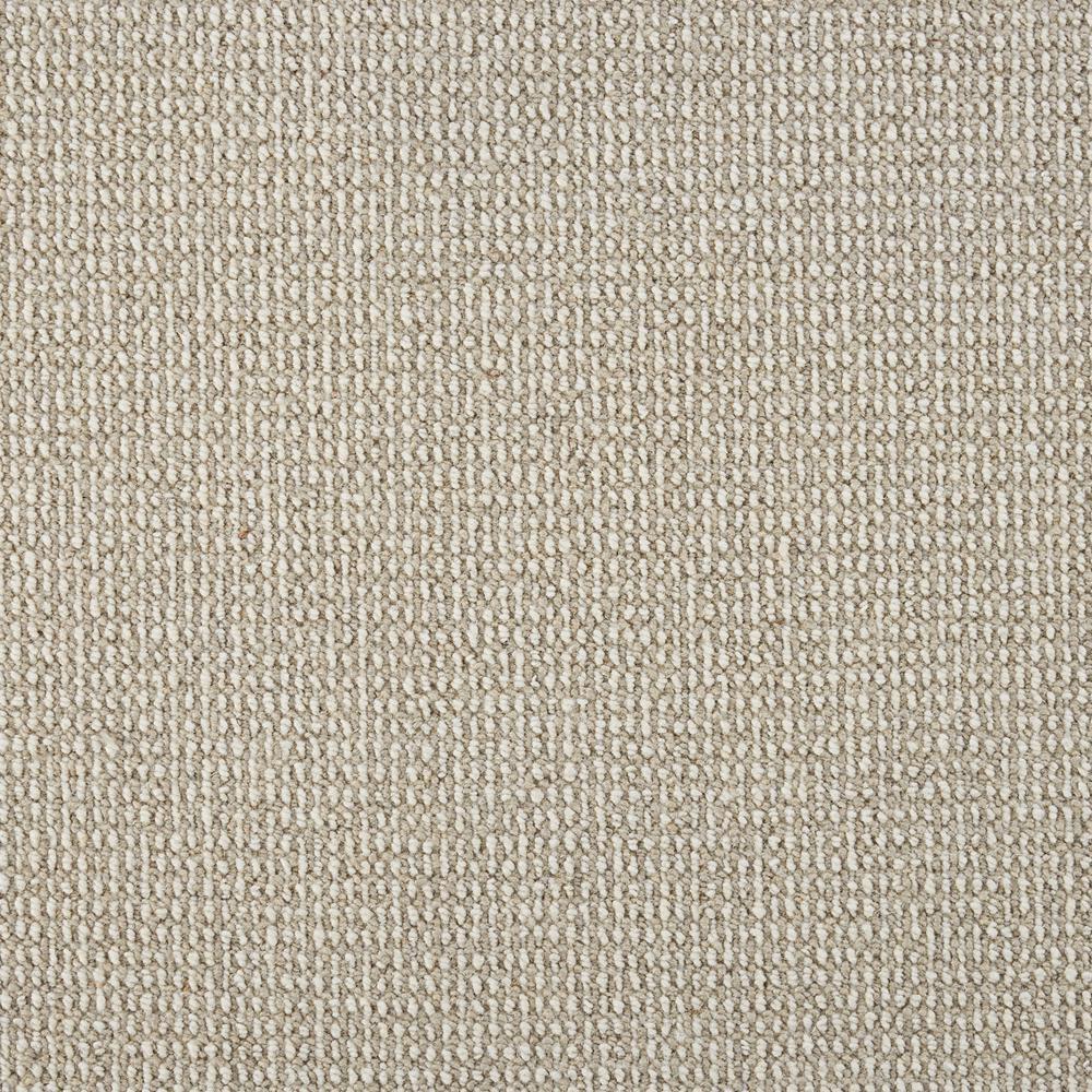 Sand Harbor - Color Silt/Ivory Loop 12 ft. Carpet