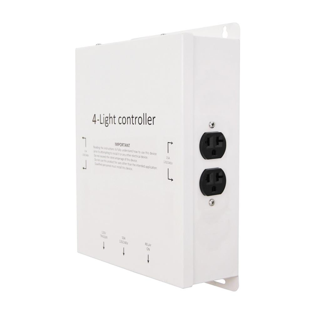 4-Outlet 120/240-Volt 4000-Watt Maximum Light Controller