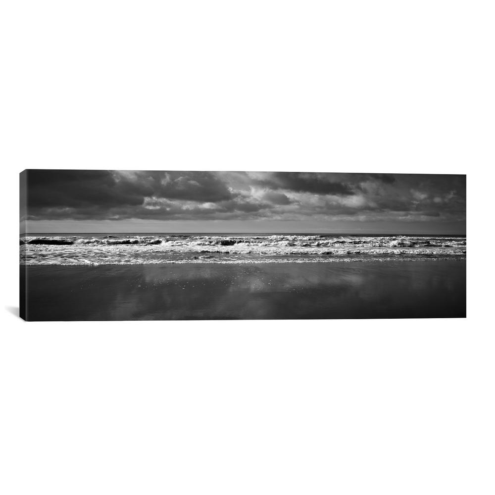 iCanvas Ocean (Black & White)by Michael Harrison Canvas Wall Art, Multi was $158.0 now $81.0 (49.0% off)