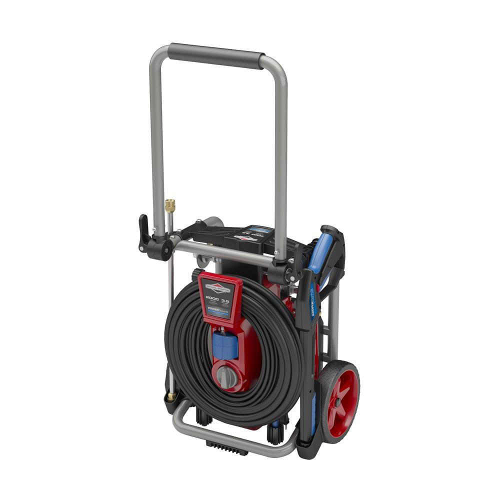 Briggs Stratton 2000 Psi 3 5 Gpm Electric Pressure Washer With Powerflow Plus Technology 020667 The Home Depot