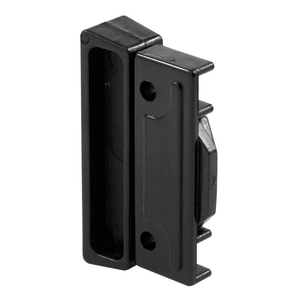 Prime-Line Sliding Window Latch and Pull Auto Latching Black Plastic