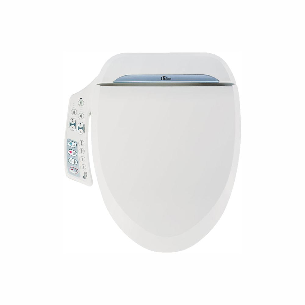 bioBidet Ultimate Electric Bidet Seat for Round Toilets in White