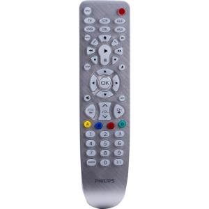Philips 6 Device Universal Remote Control Silver Backlit