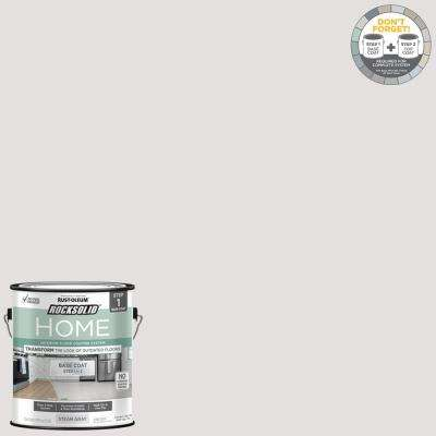 Home 1 gal. Steam Gray Interior Floor Base Coating