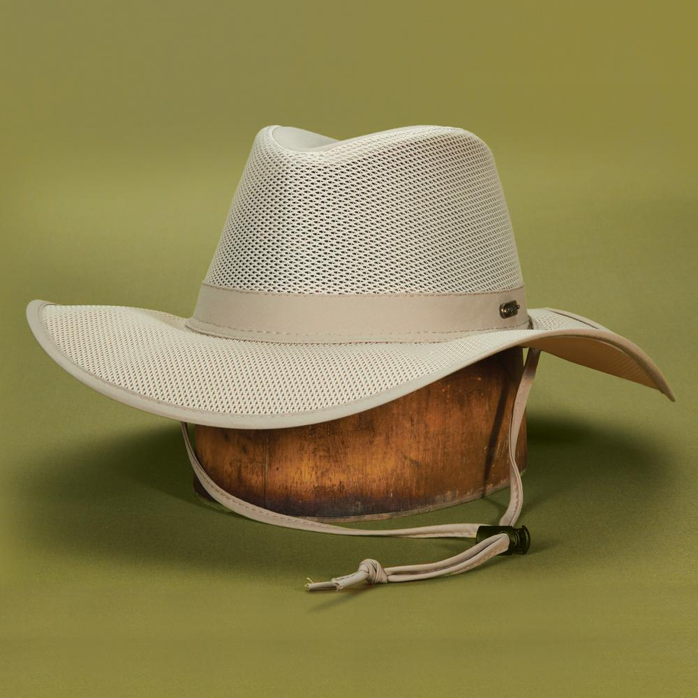17049935 Stetson Insect Shield Bgbrm Safari-STC198-KAKI3 - The Home Depot