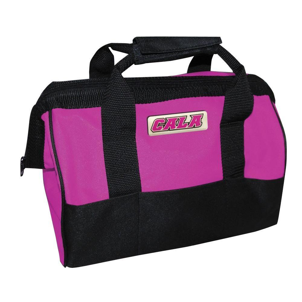 Cala Tools 12 in. Tool Bag, Pink