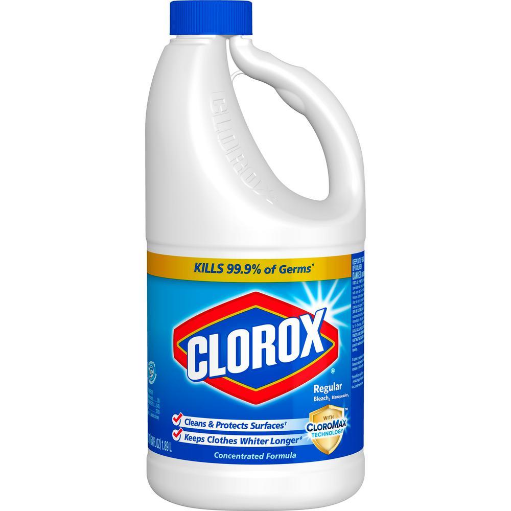 64 oz. Regular Concentrated Liquid Bleach