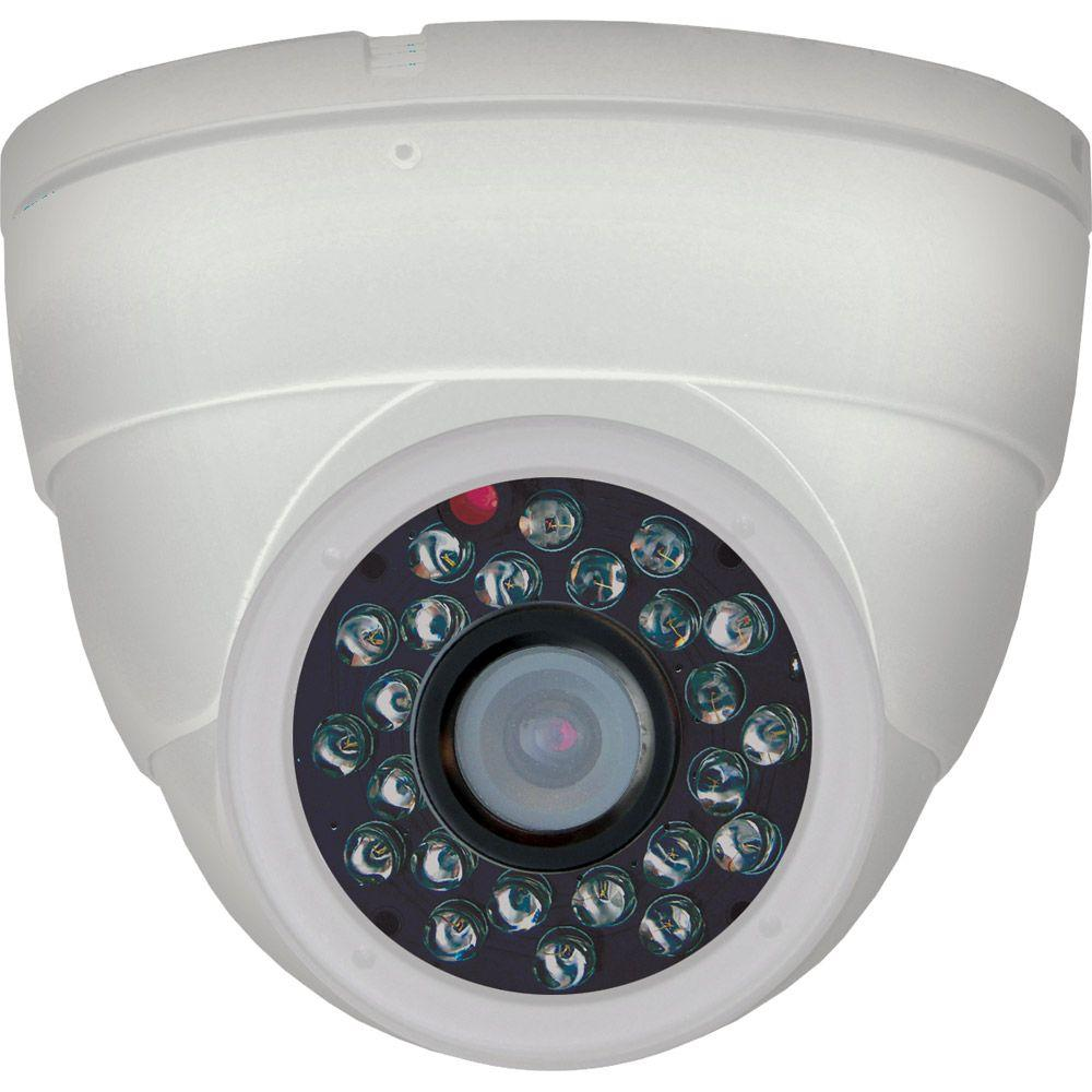 Night Owl Wired 420 TVL Indoor CCD Dome-Shaped Security Surveillance Camera-DISCONTINUED