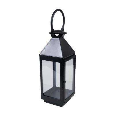 6 in. x 6 in. Black Three Hands Lantern