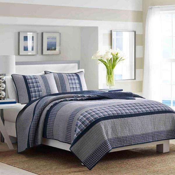 Nautica Adelson Navy Full/Queen Quilt 210469
