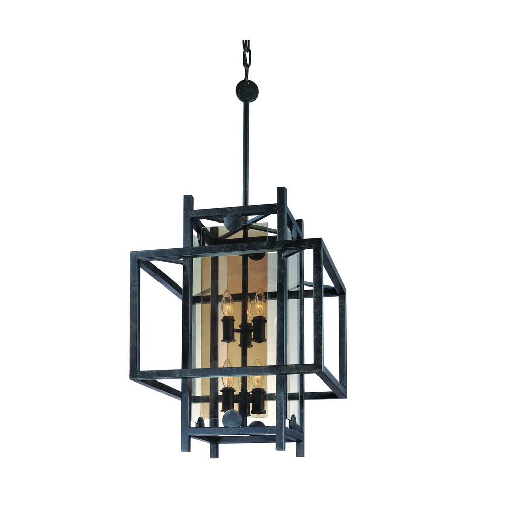 crosby collection large pendant light. Crosby 8-Light French Iron Pendant Collection Large Light I