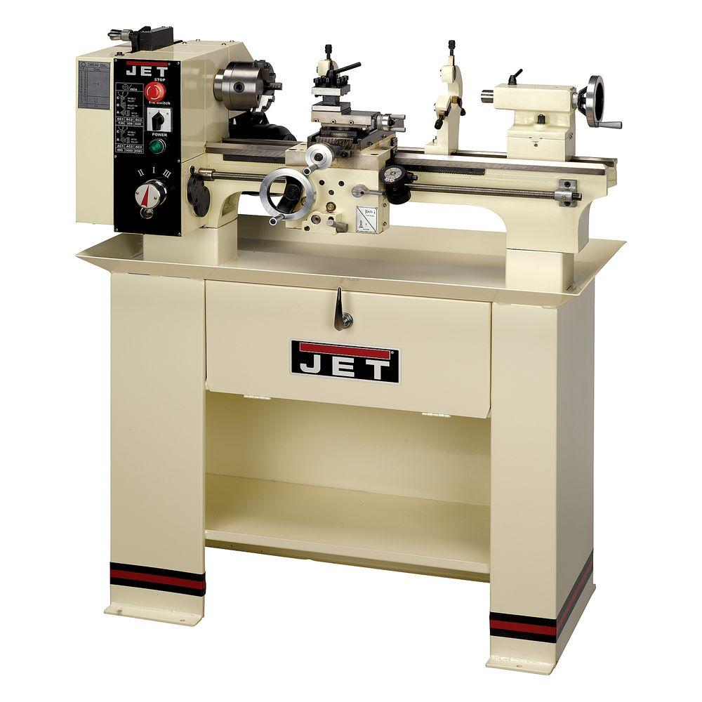 JET 9 in. x 20 in. Metalworking Bench Lathe