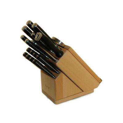 Smart Knife 20-Piece Forged Knife Set with Block