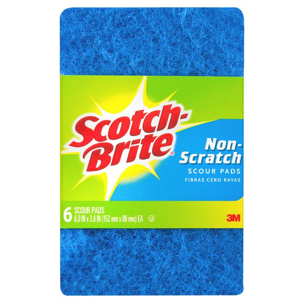 Scotch-Brite Non-Scratch Scour Pads (6-Pack)