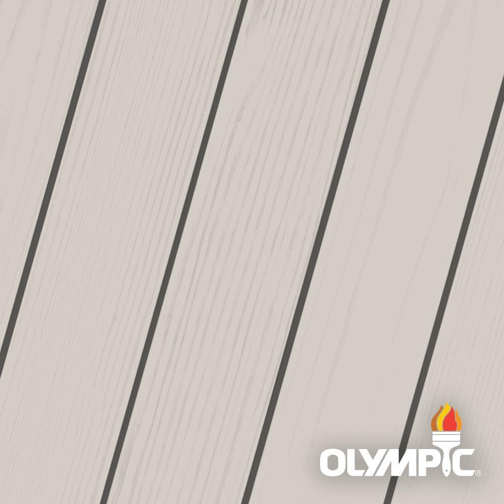 Olympic Maximum 5 Gal Cape Cod Gray Solid Color Exterior