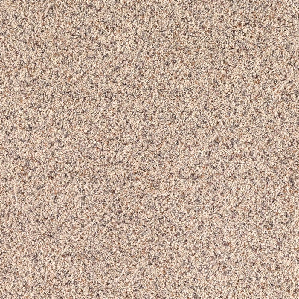 SoftSpring Lush I - Color Snow Bank 12 ft. Carpet