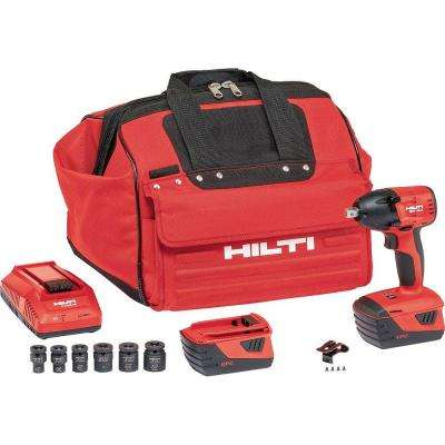 SIW 22-Volt Lithium-Ion 1/2 in. Cordless Impact Wrench