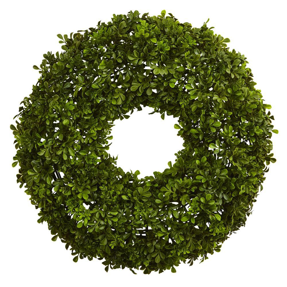 22 in. Boxwood Wreath
