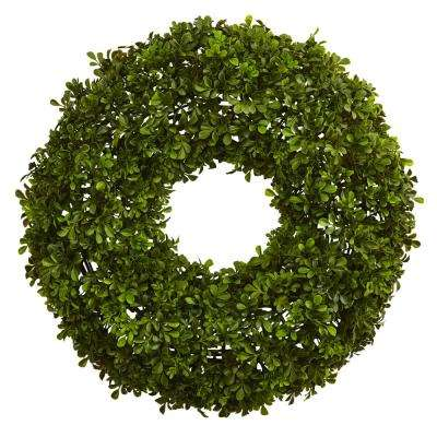 22 in. Boxwood Wreath