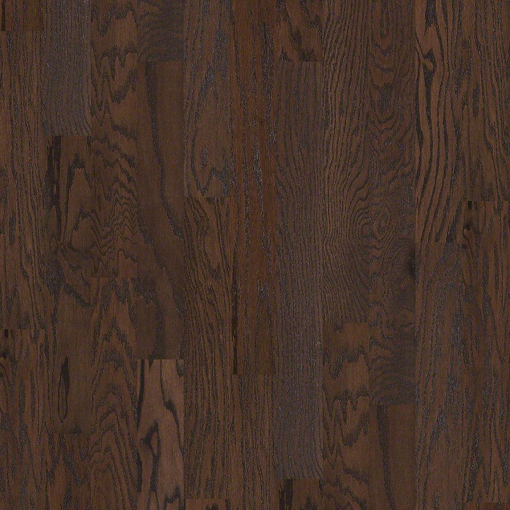 Shaw Take Home Sample Bradford Oak Country Engineered Hardwood Flooring 5 In