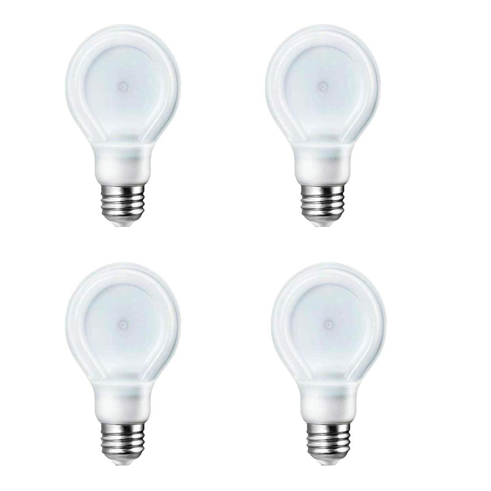 Philips SlimStyle 40W Equivalent Daylight (5000K) A19 Dimmable LED Light Bulbs (4-Pack)