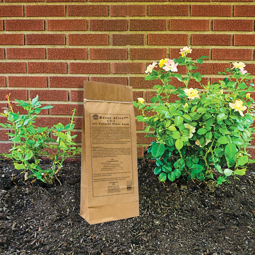 Gardens Alive! 3 lbs. Roses Alive Fertilizer-8366 - The Home Depot