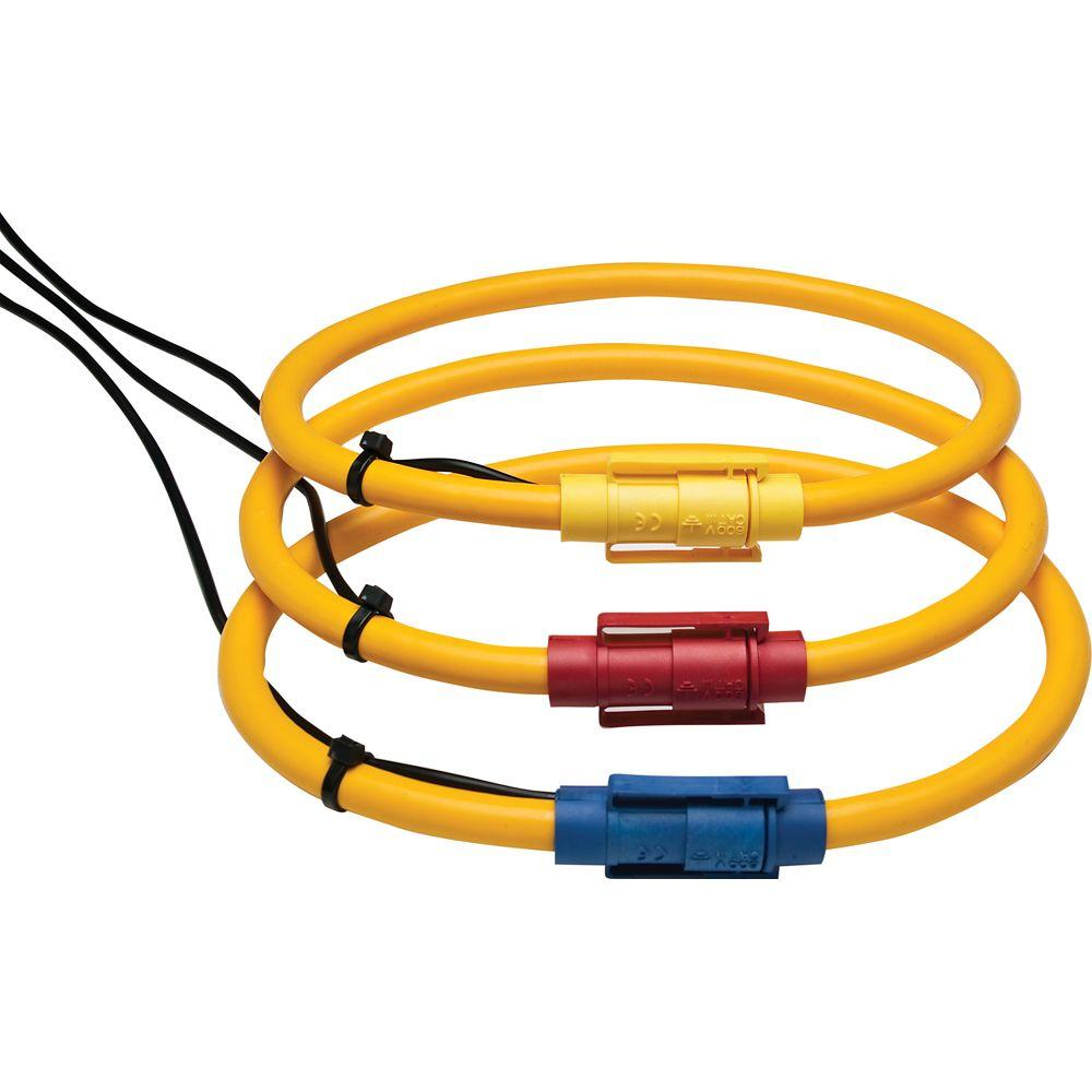 Extech Instruments 1200-Amp Flexible Current Clamp Probe (Set of 3)