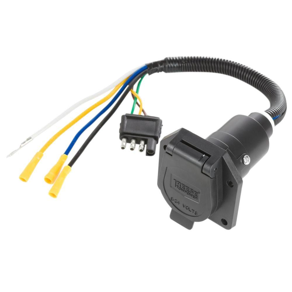 reese towpower towing lights wiring 7418411 64_1000 towing lights & wiring towing accessories the home depot Automotive Wire Connectors at crackthecode.co