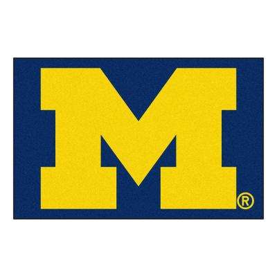 University of Michigan 19 in. x 30 in. Accent Rug