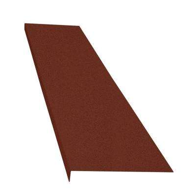 Classic Series 14 in. x 72 in. Brick Powder Coat Finished Steel Foundation Plate for Cellar Door
