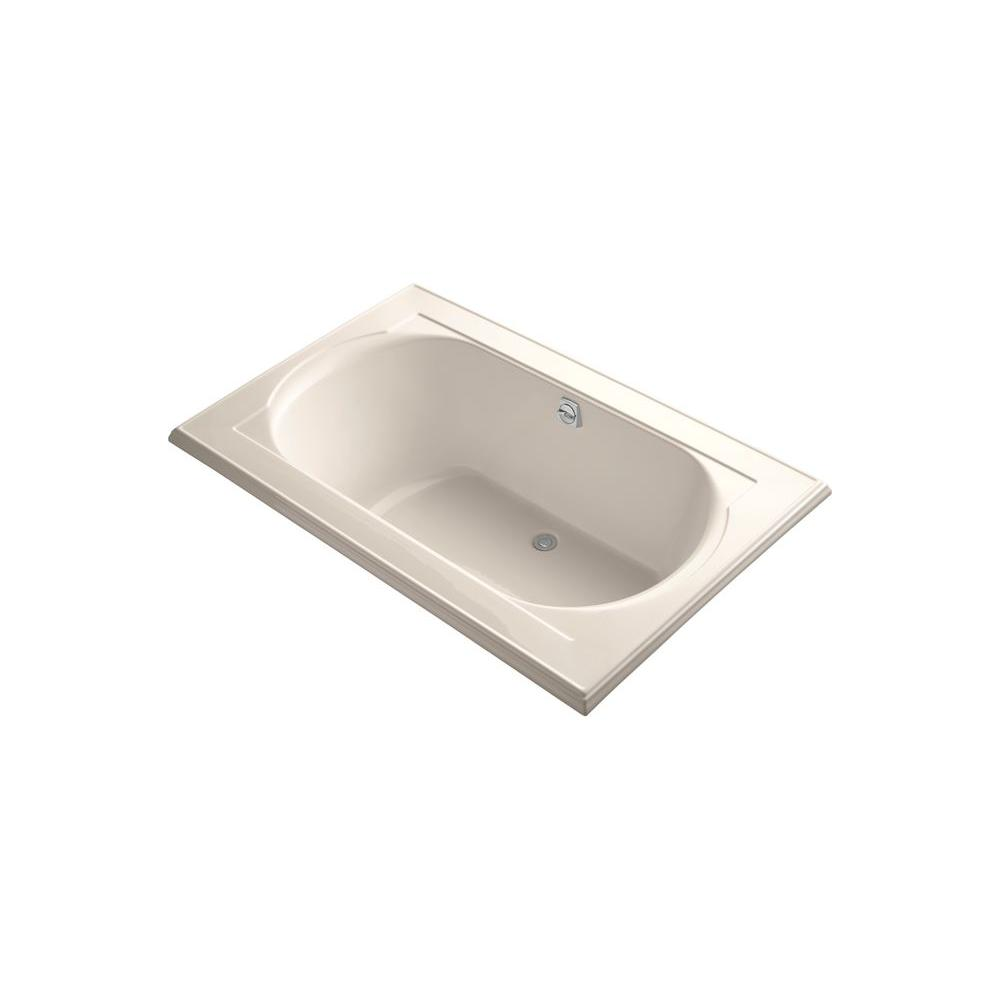 KOHLER Memoirs 5.5 ft. Bathtub in Innocent Blush-DISCONTINUED