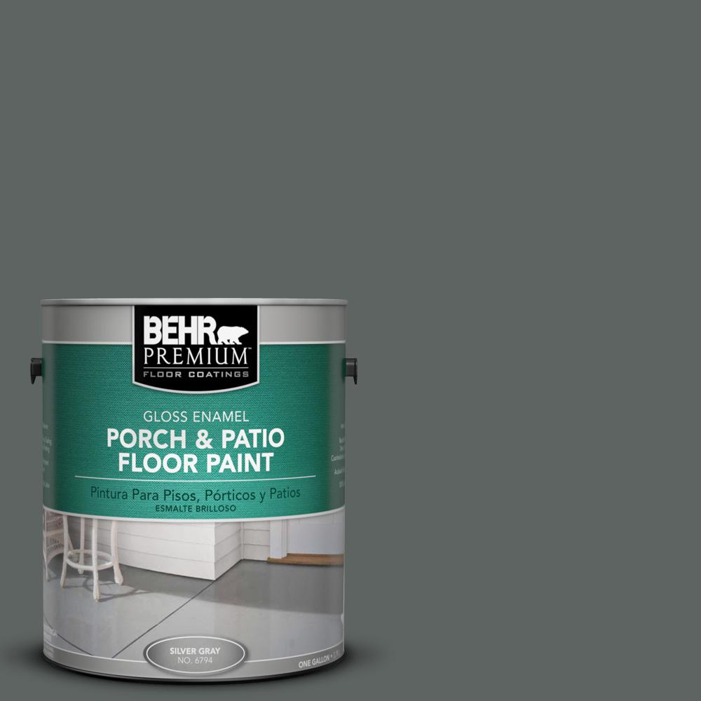 Merveilleux #BXC 41 Charcoal Gloss Porch And Patio Floor Paint