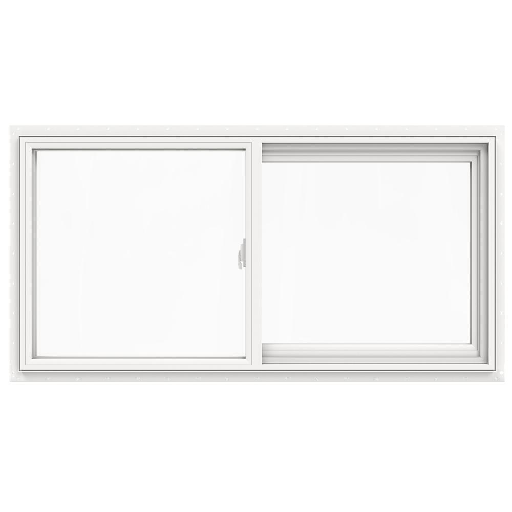 47.5 in. x 23.5 in. V-2500 Series Left-Hand Sliding Vinyl Window