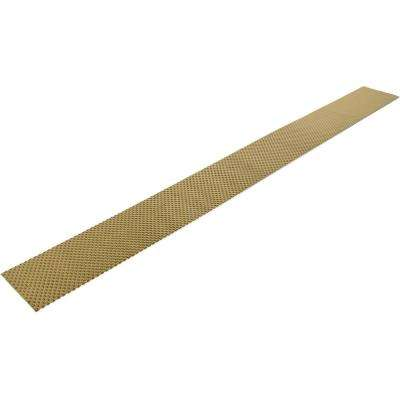 MantleFlect Shield Gold - Mantle and TV Heat Shield – 5 in. x 46 in. Sheet Size