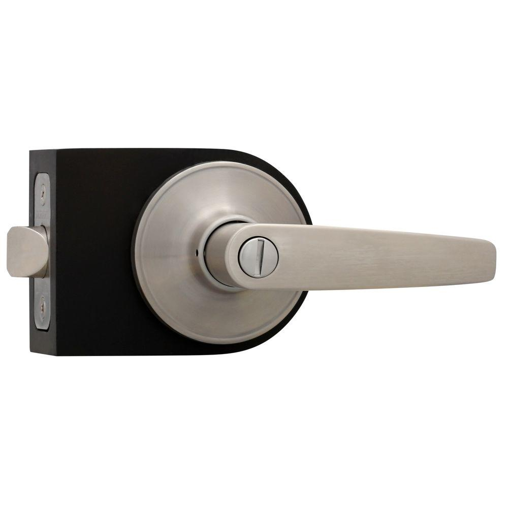 Defiant Olympic Stainless Steel Privacy Bed Bath Door Lever